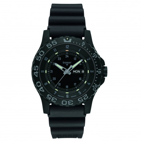 "traser® H3 watch ""P6600 MIL-G Shade"" w. day/date"