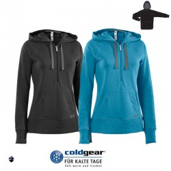 """Under Armour® Ladies """"Charged Cotton® Storm Hoody"""" ColdGear®"""