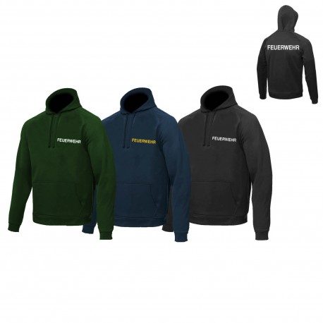 Hoody with print for NON-authorities Oversize