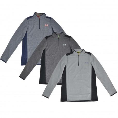 """Under Armour® 1/4 Zip Stand Collar Shirt """"Performance"""" ColdGear®"""