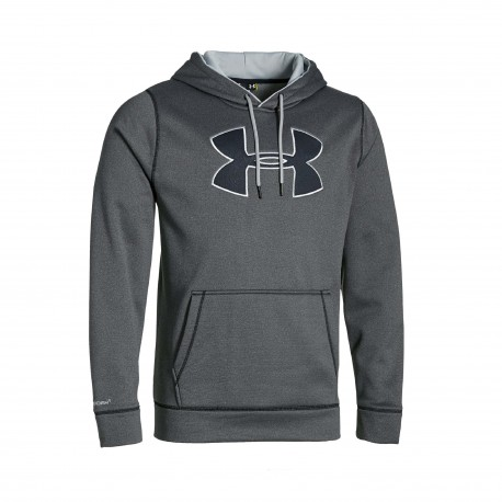 "Under Armour®  ""Big Logo Solid"" Hoodie ColdGear®"