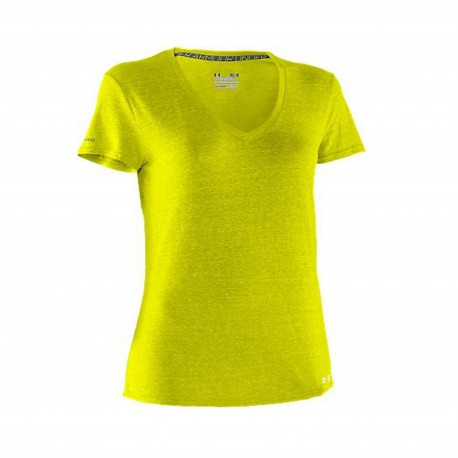"""Under Armour® Ladies T-Shirt """"Charged Cotton® Undeniable®T"""" HeatGear®"""