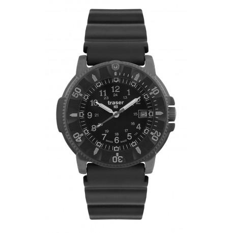 "traser® H3 watch ""P6508 Dark Code Blue"" with date function"