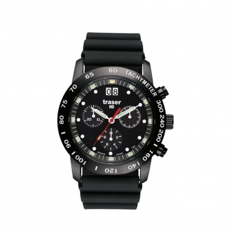 """traser® H3 watch """"Classic Chronograph Pro"""" w. date"""