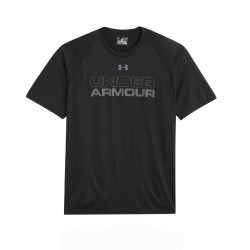"T-Shirt Under Armour® HeatGear® ""Core Training Wordmark Graphic"""
