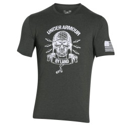 "Under Armour® Tactical Mens T-Shirt Freedom Army ""By Land"" HeatGear®"