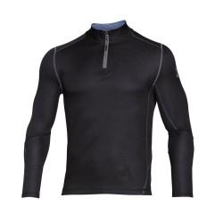 """Under Armour® Stehkragen-Shirt 1/4 Zip """"Grid"""" Infrared, ColdGear®"""