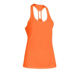 "Under Armour® Ladies Tank Top ""Fly-By Stretch Mesh"" HeatGear®"