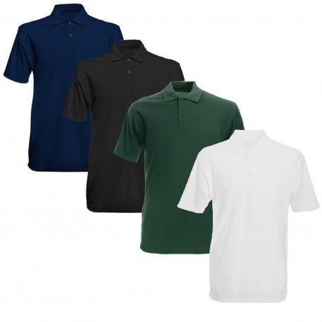 Unbedrucktes Polo-Shirt