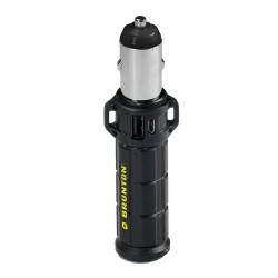 BRUNTON® TORPEDO™ 2600 USB-Energiespeicher mit KFZ-Adapter