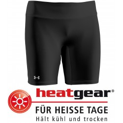 "Under Armour® Ladies 7"" Authentic Compression Short HeatGear®"