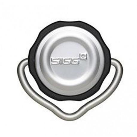 "SIGG™ Trinkflaschen-Drehverschluss ""Special Top Black/Alu"""