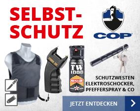 Selbstschutz - Selbstverteidigung - Stichschutz - Abwehrspray
