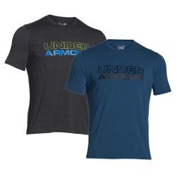 "Under Armour® T-Shirt ""Cotton Wordmark"" HeatGear®"