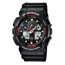 CASIO® GA-100-1A4ER G-Shock Armbanduhr