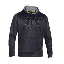"Under Armour®  ""Big Logo Pattern"" Kapuzenpullover ColdGear®"