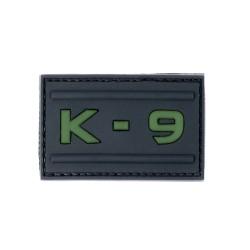 Klettabzeichen K-9 - gummiert (68 x 34 mm)