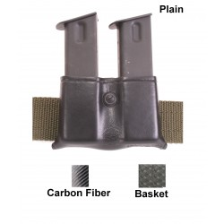"SAFARILAND ""079 Double Mag Pouch PBC"" open top"