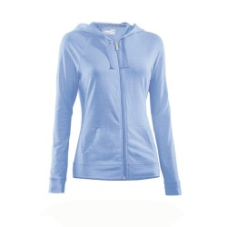 "Under Armour® Ladies""Charged Cotton® Undeniable® Full Zip Hoody"" HeatGear®"