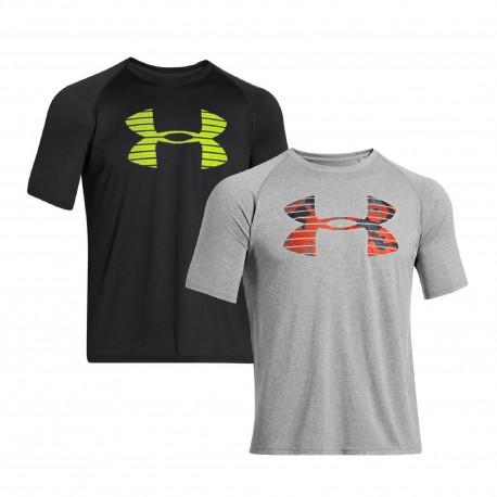 "Under Armour® T-Shirt HeatGear® ""Core Logo Graphic"""