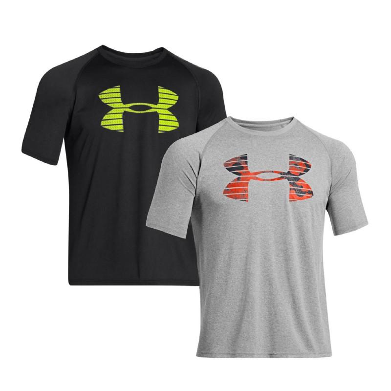 Under Armour T Shirt Core Logo Graphic Heatgear