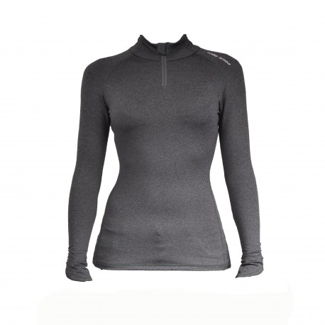 "Under Armour® Ladies collar shirt ""Fitted 1/4 Zip"" ColdGear®"
