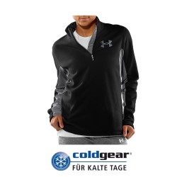 """Under Armour® Ladies 1/4 Zip Pullover """"Extreme"""" ColdGear® Semi-Fitted"""