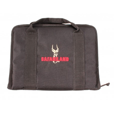 """SAFARILAND 12"""" Premium Dual Handgun Case"""