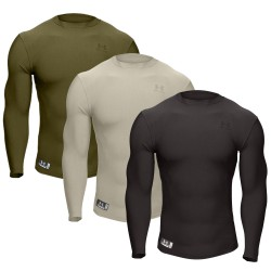 Under Armour® Tactical Langarm Crew Shirt ColdGear®, Compression