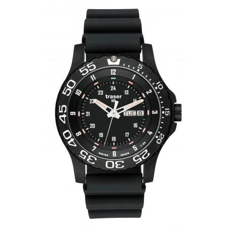 "traser® H3 watch ""P6600 Elite Red"" w. day/date, ø 45mm"