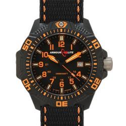 "ArmourLite Tritium-Armbanduhr Caliber ""AL602"", ø 47mm"
