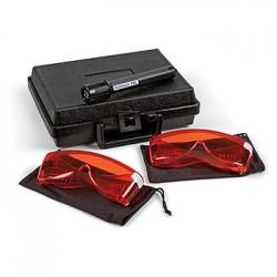 Forensic Taschenlampen- / Brillen Set