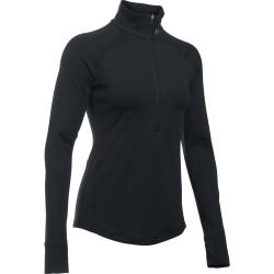 "Under Armour ® Womens Long Sleeve 1/4 Zip ""Armour"" ColdGear®"