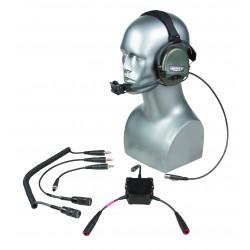 TCI(TM) Aktiver Gehörschutz Liberator III-OTH m. FuG-Anschluss