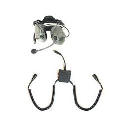 TCI(TM) Aktiver Gehörschutz Liberator III Lite-OTH m. FuG-Anschluss