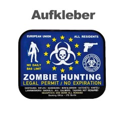 """Decal """"Zombie-Hunting"""""""