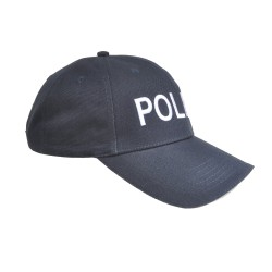 COP® Basecap bestickt  - BEHÖRDE - einzeilig vorne, Einheitsgröße
