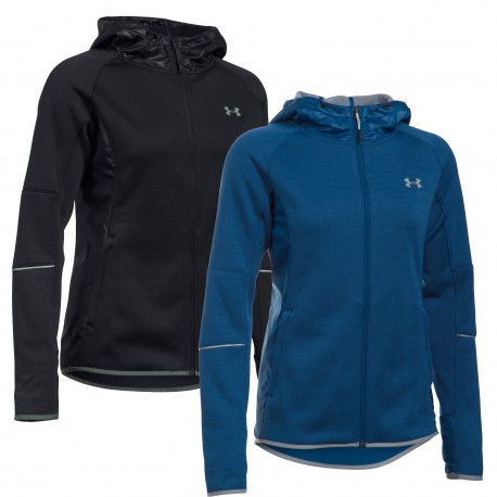 "Under Armour® Ladies Hooded Jacket ""Swacket"" ColdGear®"