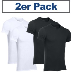Under Armour® T-Shirt Signature HeatGear® Fitted, 2er-Pack
