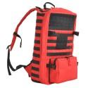 Großer Erste Hilfe Rucksack (33 Liter), rot