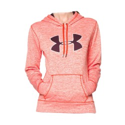Under Armour® Ladies Kapuzenpulli Big Logo Twist ColdGear®