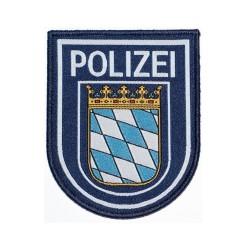 Klettabzeichen Polizei -BAYERN - Textil (92 x 75 mm)