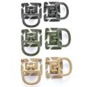 Viper Tactical D-Ring (2 Stück) Kunststoff
