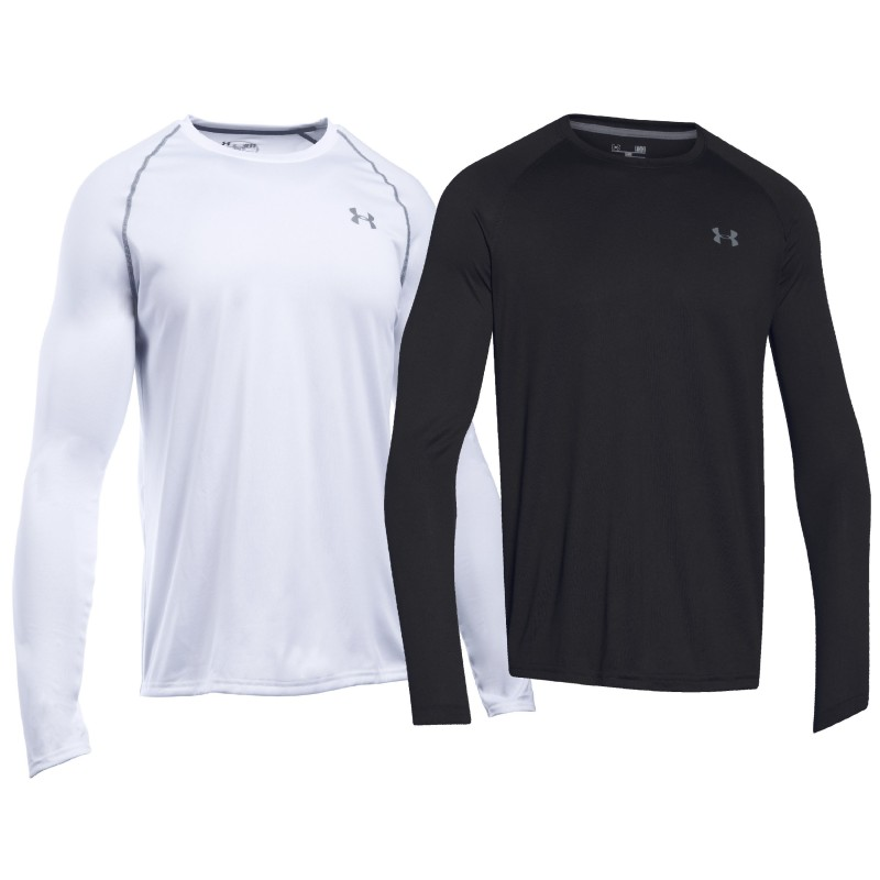 Under armour langarm t shirt i will tech tee heatgear for Under armour i will shirt