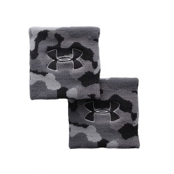 Under Armour® Jacquarded Schweißband, HeatGear®, Camo (1 Paar)