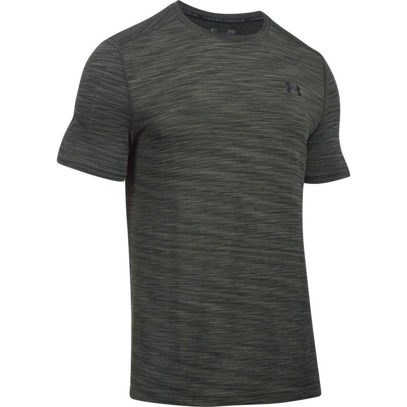 Under armour t shirt threadborne tm heatgear fitted for Under armor heat gear t shirt
