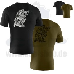 Under Armour® Tactical T-Shirt mit COP SEK Logo Charged Cotton®, HeatGear® Loose