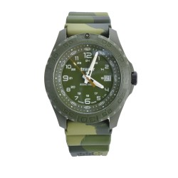 traser® H3 Armbanduhr Soldier mit Tag/Datum, Camo, ø 44mm