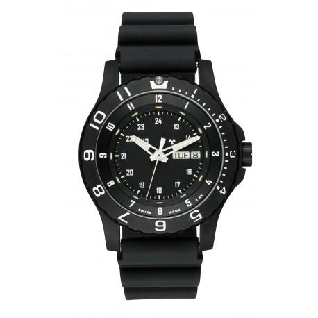 traser® H3 Armbanduhr P6600 Type 6 MIL-G mit Tag/Datum, ø 45mm