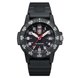 Luminox® Armbanduhr 0301 Leatherback Sea Turtle , schwarz/weiß (39 mm)